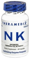 Theramedix - NK Nattokinase Formula - 60 Vegetarian Capsules CLEARANCED PRICED (670480230602)