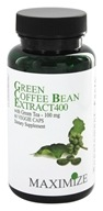 Maximum International - Green Coffee Bean Extract 400 mg. - 60 Vegetarian Capsules - $17.79