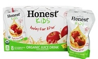 Honest Kids - Organic Juice Drink Appley Ever After - 8 x 6.75 Pouches (657622815842)