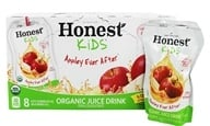 Honest Kids - Organic Juice Drink Appley Ever After - 8 x 6.75 Pouches by Honest Kids