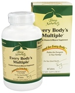 EuroPharma - Every Body's Multiple Vitamin & Mineral - 80 Tablet(s)