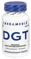 Theramedix - DGT Digestion Support Formula - 90 Vegetarian Capsules (170480251107)