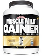 Cytosport - Muscle Milk Genuine High Protein Gainer Powder Drink Mix Graham Cracker - 5 lbs. by Cytosport