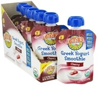 Earth's Best - Organic Greek Yogurt Smoothie Cherry - 3.1 oz. (023923320178)