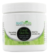 BodyVerde - Fresh Skin Rx Eczema Rash and Anti-Itch Cream - 4 oz. by BodyVerde