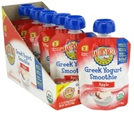 Earth's Best - Organic Greek Yogurt Smoothie Apple - 3.1 oz. by Earth's Best
