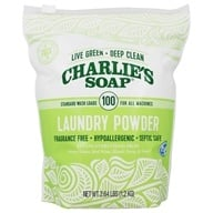Charlie's Soap - Laundry Powder - 2.64 lbs. (757072417013)