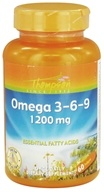 Thompson - Omega 3-6-9 Essential Fatty Acids 1200 mg. - 60 Softgels - $4.99