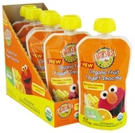 Earth's Best - Organic Fruit Yogurt Smoothie Pineapple Orange Banana - 4.2 oz., from category: Health Foods