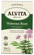 Alvita - Organic Valerian Root Tea - 24 Tea Bags, from category: Teas