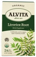 Alvita - Organic Licorice Root - 24 Tea Bags