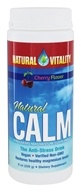 Natural Vitality - Natural Calm Anti-Stress Drink Cherry Flavor - 8 oz.