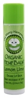 The Merry Hempsters - Organic Hemp Lip Balm Lemon Lime - 0.14 oz.