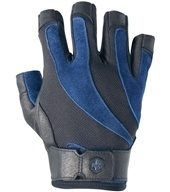 Image of Harbinger - BioFlex Lifting Gloves - Large Black/Blue - 1 Pair
