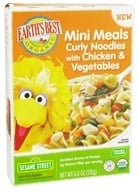 Earth's Best - Mini Meals Curly Noodles with Chicken & Vegetables - 6 oz., from category: Health Foods