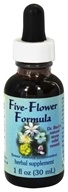 Image of Flower Essence Services - Five-Flower Natural Stress Relief Formula - 1 oz.