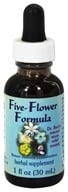 Flower Essence Services - Five-Flower Natural Stress Relief Formula - 1 oz.