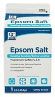 Quality Choice - Epsom Salt - 1 lb. - $1.99