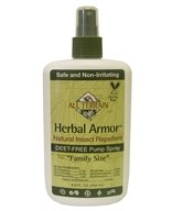 All Terrain - Herbal Armor Natural Insect Repellent Deet-Free Pump Spray - 8 fl. oz.