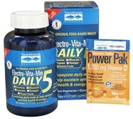 Trace Minerals Research - Electro-Vita-Min Daily 5 - 180 Tablets CLEARANCED PRICED - $23.26