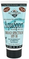 All Terrain - AquaSport Sunscreen Lotion 30 SPF - 6 oz. (608503023320)
