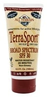 All Terrain - TerraSport Sunscreen Lotion 30 SPF - 6 oz. by All Terrain