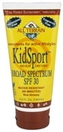 All Terrain - KidSport Sunscreen Lotion 30 SPF - 6 oz. by All Terrain