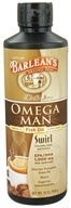Image of Barlean's - Omega Man Fish Oil Swirl Mocha Java - 16 oz.