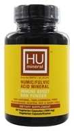 HUmineral - Humic/Fulvic Acid Mineral + Immune Boost Raw Powder - 60 Vegetarian Capsules by HUmineral
