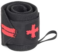Image of Harbinger - Humanx Red Line Wrist Wraps - 1 Pair