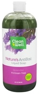CleanWell - Nature's AntiBac Liquid Soap Lavender - 32 oz. by CleanWell
