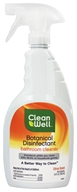 CleanWell - Botanical Disinfectant Bathroom Cleaner Citrus Scent - 26 oz. by CleanWell