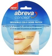 Abreva - Conceal Invisible Cold Sore Patch - 6 Bandage(s)