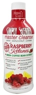 BNG Enterprises - Herbal Clean Simply Slender Master Cleanse with Raspberry Ketones & Green Coffee - 32 oz., from category: Detoxification & Cleansing