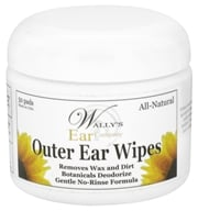 Image of Wally's Natural Products - Outer Ear Wipes - 50 Pad(s) CLEARANCE PRICED