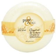 Pure & Basic - Natural Bar Soap Grapefruit & Verbena - 6.4 oz.