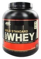 Optimum Nutrition - 100% Whey Gold Standard Protein White Chocolate - 5 lbs., from category: Sports Nutrition