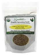 Sproutman - Organic Sprouting Red Clover Seed - 8 oz.