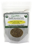 Sproutman - Organic Sprouting Red Clover Seed - 8 oz. by Sproutman