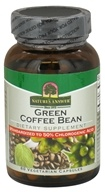Nature's Answer - Green Coffee Bean 400 mg. - 60 Vegetarian Capsules by Nature's Answer