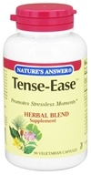 Nature's Answer - Tense-Ease Stress Reduction Blend - 90 Vegetarian Capsules, from category: Herbs