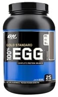 Optimum Nutrition - 100% Egg Gold Standard Protein Rich Chocolate - 2 lbs. by Optimum Nutrition