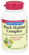 Nature's Answer - Black Walnut Complex Herbal Blend - 90 Vegetarian Capsules, from category: Herbs