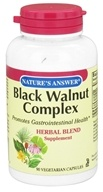 Nature's Answer - Black Walnut Complex Herbal Blend - 90 Vegetarian Capsules (083000160172)
