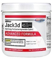 Image of USP Labs - Jack3d Advanced Formula Fruit Punch 45 Servings - 230 Grams