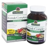 Nature's Answer - Female Complex Herbal Blend - 90 Vegetarian Capsules - $5.79