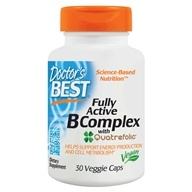 Doctor's Best - Best Fully Active B Complex - 30 Vegetarian Capsules