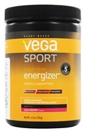 Vega Sport - Natural Plant Based Sugar Free Energizer Acai Berry - 4.5 oz. (838766007083)