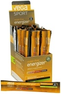Image of Vega Sport - Natural Plant Based Sugar Free Energizer Lemon Lime - 30 x .12 oz. Packs