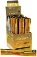 Vega Sport - Natural Plant Based Sugar Free Energizer Lemon Lime - 30 x .12 oz. Packs - $39.99